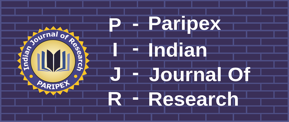 Paripex - Indian Journal Of Research(PIJR) ,PIJR|World Wide
